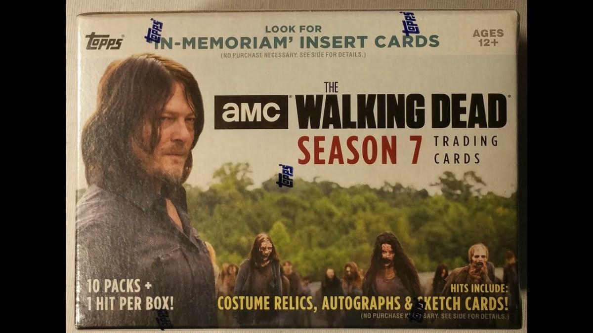Topps 2017 The Walking Dead Season 7 Sketch Cards