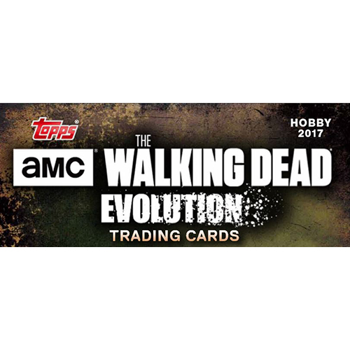 topps the walking dead evolution logo