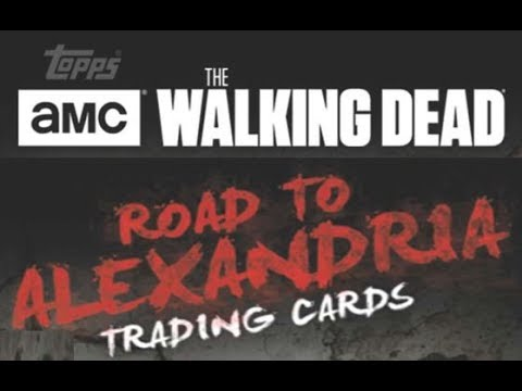 Topps 2018 The Walking Dead: Road to Alexandria