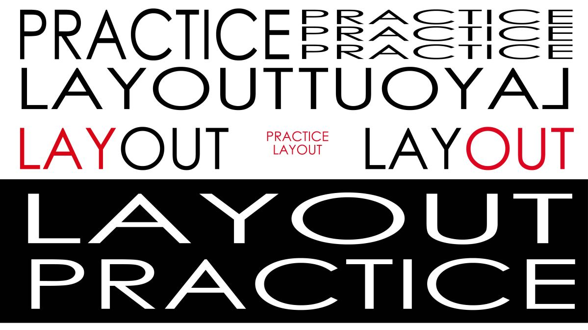 Creating Solid Graphic Layouts through Practice