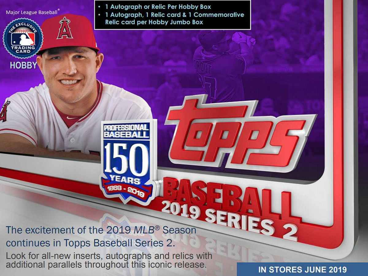 Topps 2019 Baseball Series 2 Sketch Cards