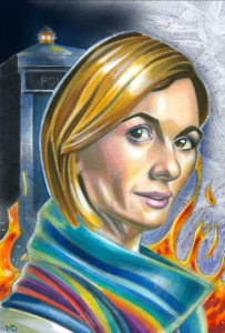 thirteenth doctor who illustration by matt stewart