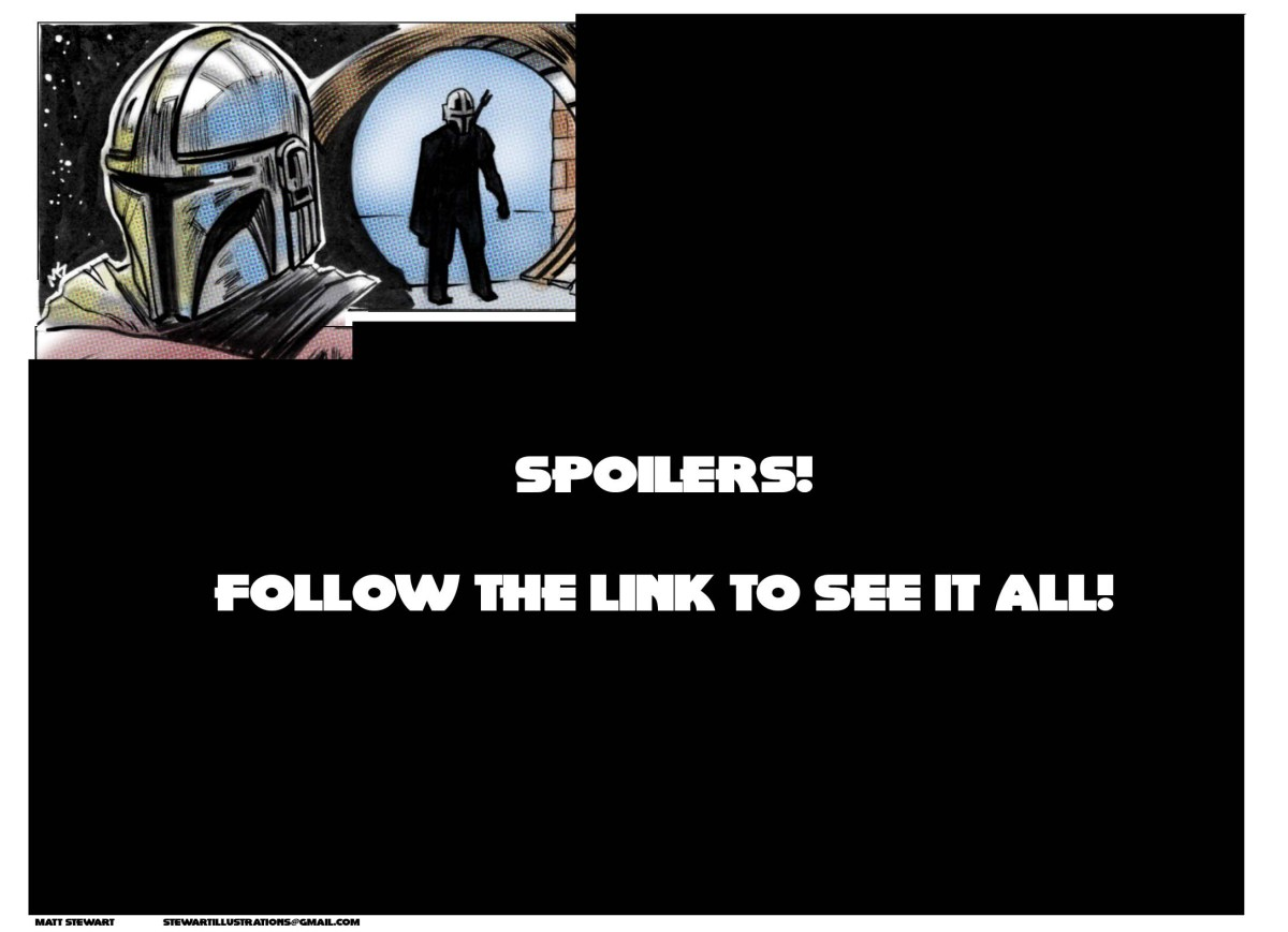 The Mandalorian Episode 1 Comicstrip