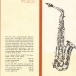Mark VI booklet alto