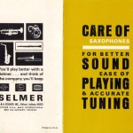 selmer care booklet 1