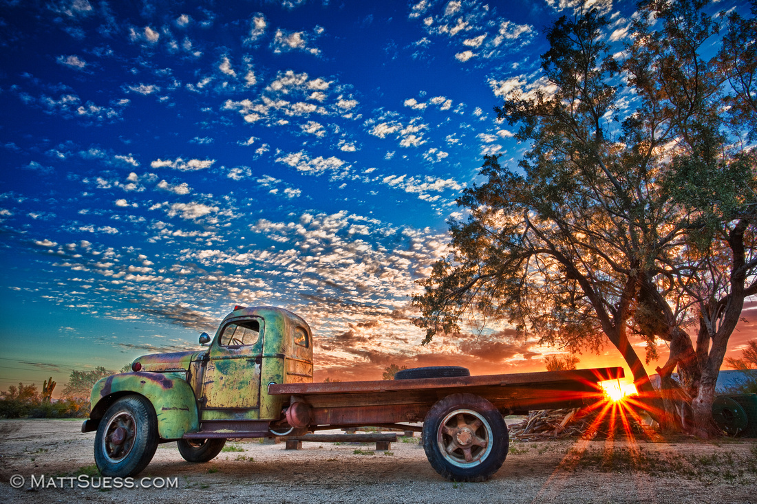 """Old Betsy at Sunset"""