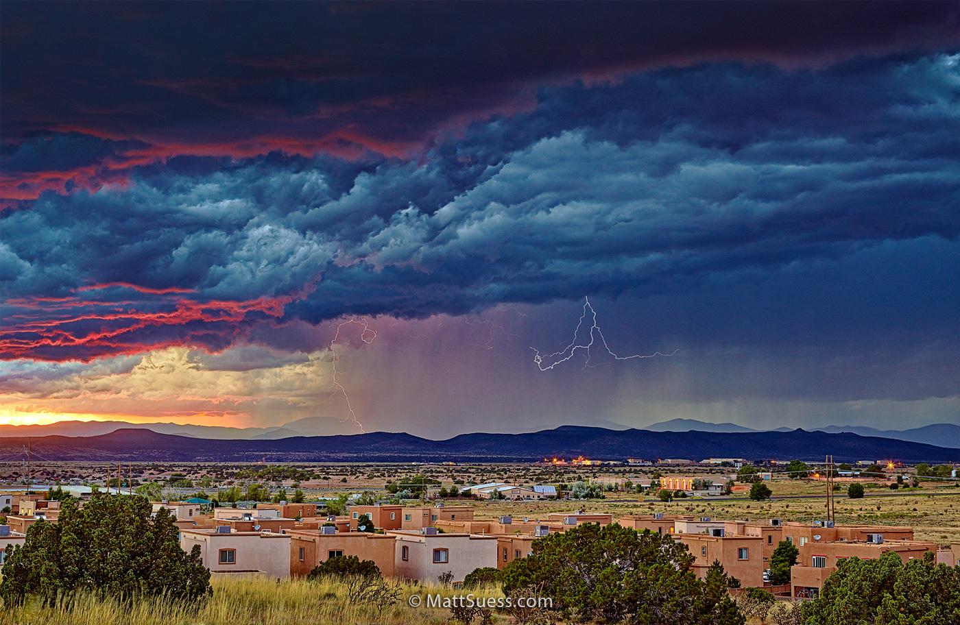 """""""Santa Fe Thunderstorm"""""""