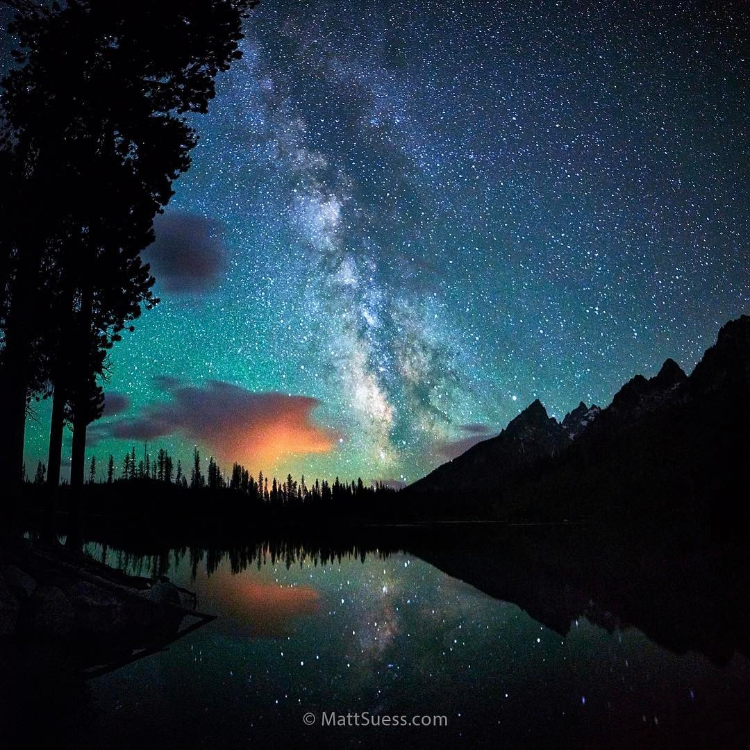 Grand Teton National Park, Instagram post date: