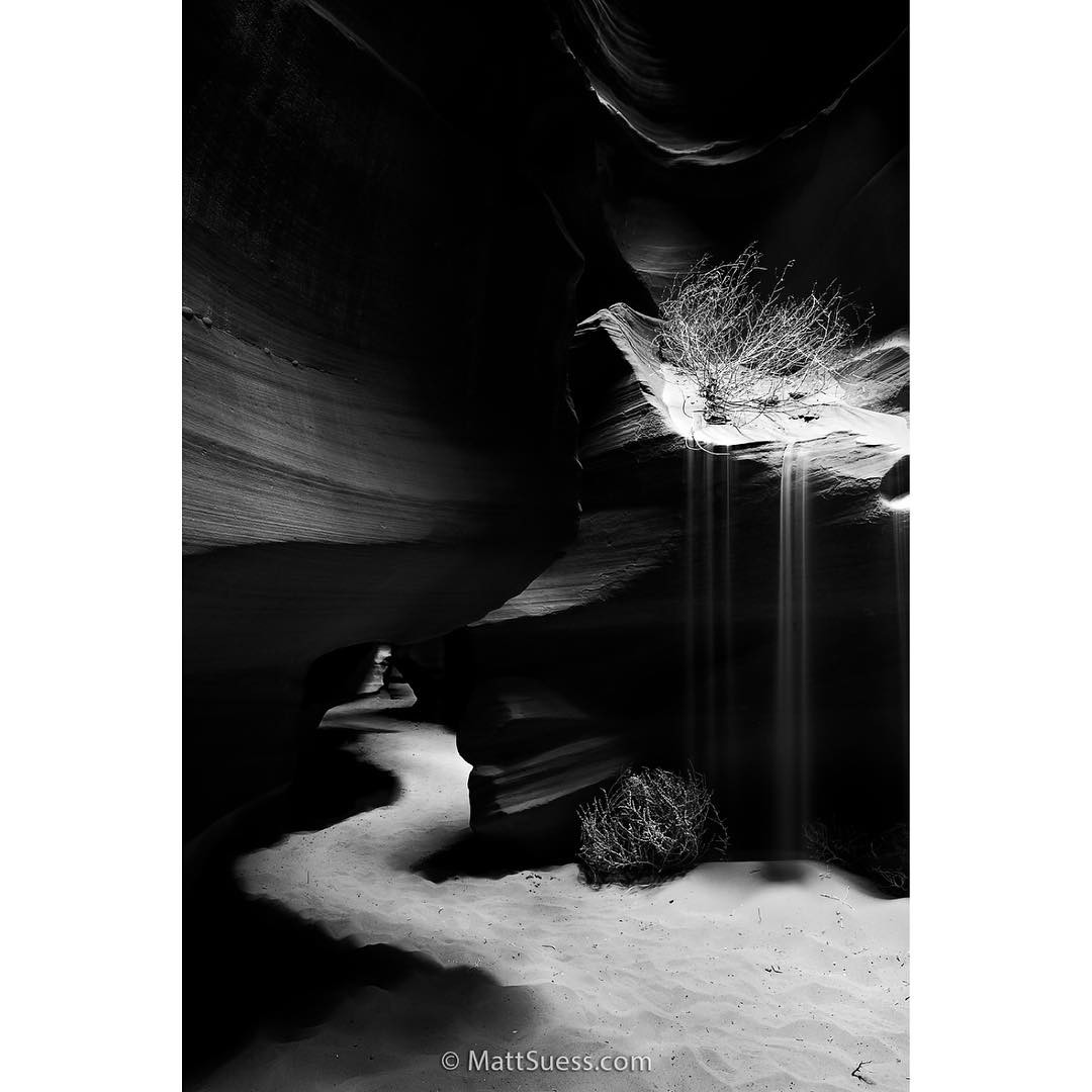 Antelope Canyon, Instagram post date: