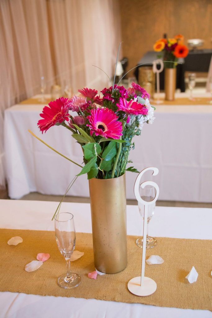 spirit pittsburgh pa wedding vase with flowers photo