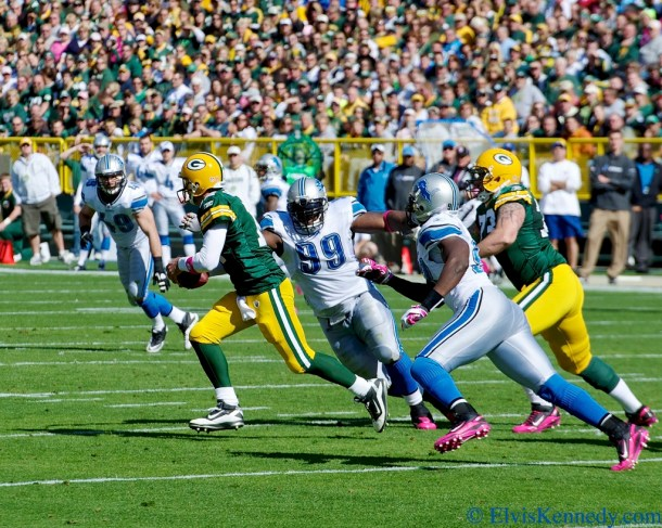 Aaron Rodgers is the first overall pick in the 2nd Annual RSP Writers Project Photo by Elvis Kennedy.