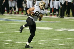 There are a fair share of Jimmy Graham-sized When Jimmy Graham and Peyton Manning are in your lineup, you don't need much more - ask Jim Day.  Photo by Football Schedule.