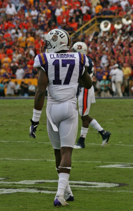 Schatz goes with, Claiborne the second-year corner from LSU as his future shutdown guy. Photo by Crawford Orthodontics.
