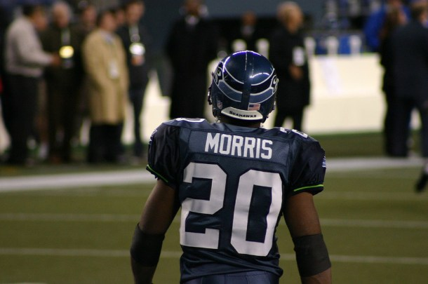 Maurice Morris was a solid contributor. I think that's Jordan Todman's floor as an NFL prospect. Photo by Bernzilla.
