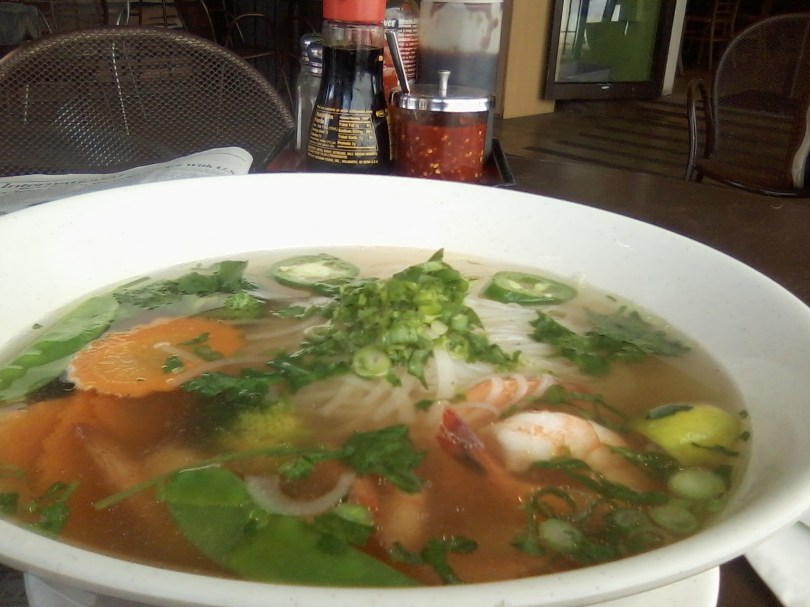 RLV is a lot like the Pho at my buddy Tu's restaurant in Athens . . . tasty variety. Photo by Matt Waldman.