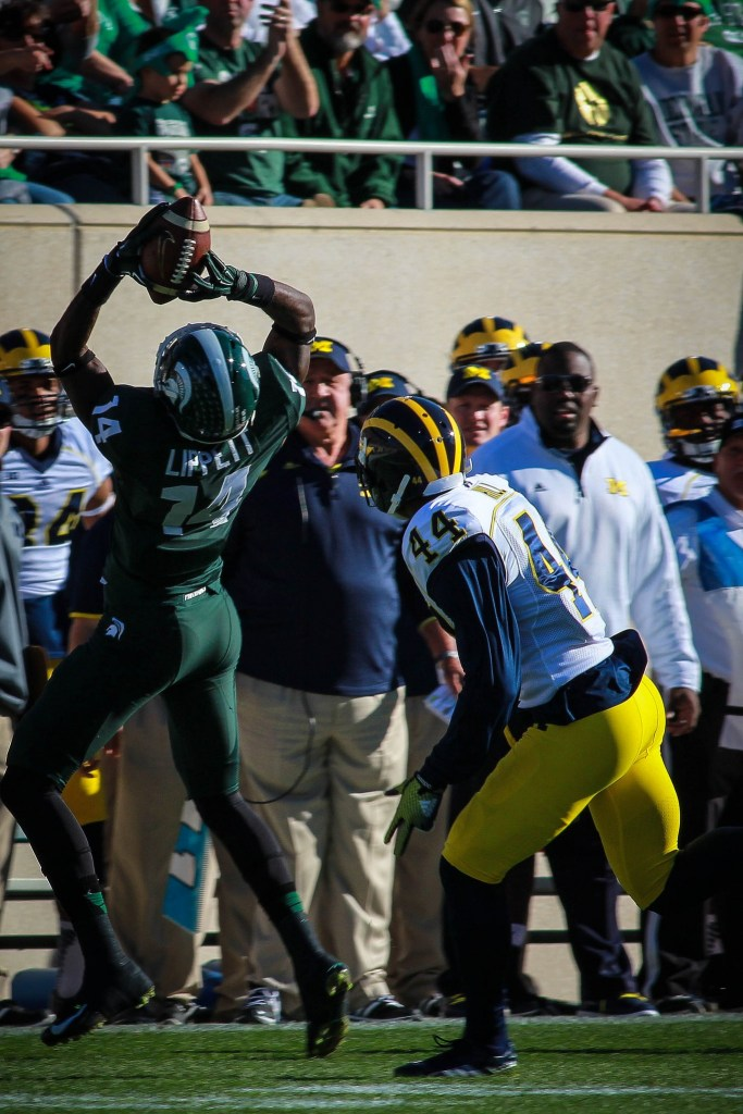 Tony Lippett. Photo by MGoBlog