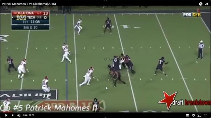 Matt Waldman of the Rookie Scouting Portfolio examines Quarterback Patrick Mahomes's 2017 NFL Draft Prospects