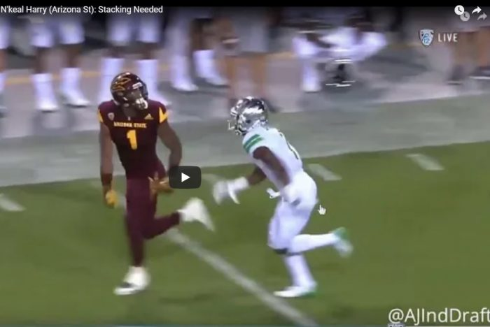 Matt Waldman's RSP Boiler Room No. 148 WR N'Keal Harry (Arizona St.): Stacking Needed