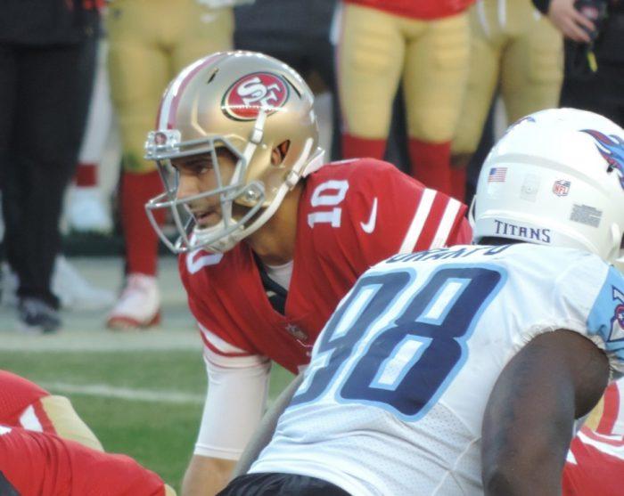 Matt Waldman's RSP NFL Lens 49ers QB Jimmy Garoppolo: Quiet Feet