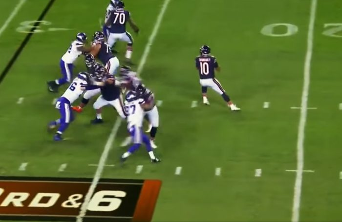 Mark Schofield's RSP NFL Lens: Mitchell Trubisky's (Bears) Confidence and Development