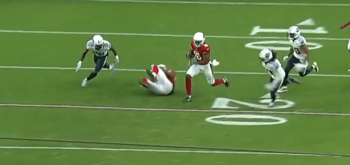 RSP NFL Lens WR Chad Williams (Cardinals): Maintaining Speed While Tracking the Football