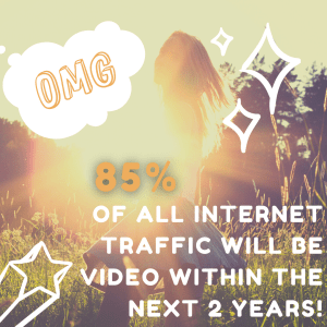 85% of all global internet traffic will be from video streaming and downloads within the next 2 years