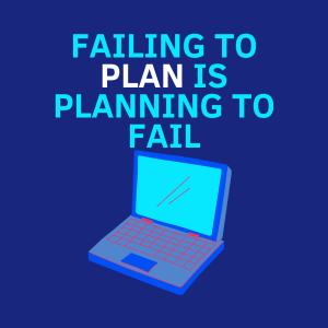 So many people fail to plan when thinking how to set up an online business correctly