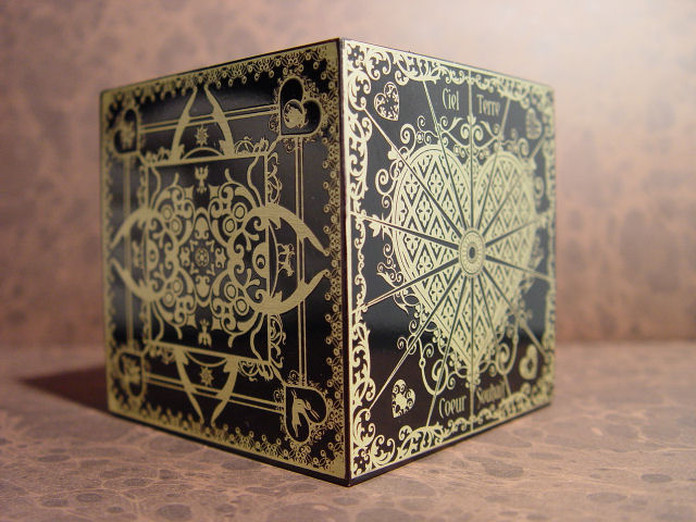 The Lost Configuration: Ancient French Box of Eternity & Innocense