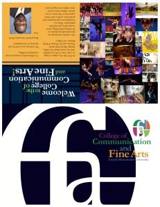 Loyola Marymount University's School of Communication and Fine Arts Rebrand Project