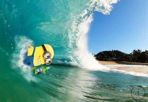 Body Surfing Minion