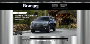 Braeger Chevrolet Website (braegerchevy.com)