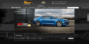 Merit Chevrolet Website (meritchev.com)