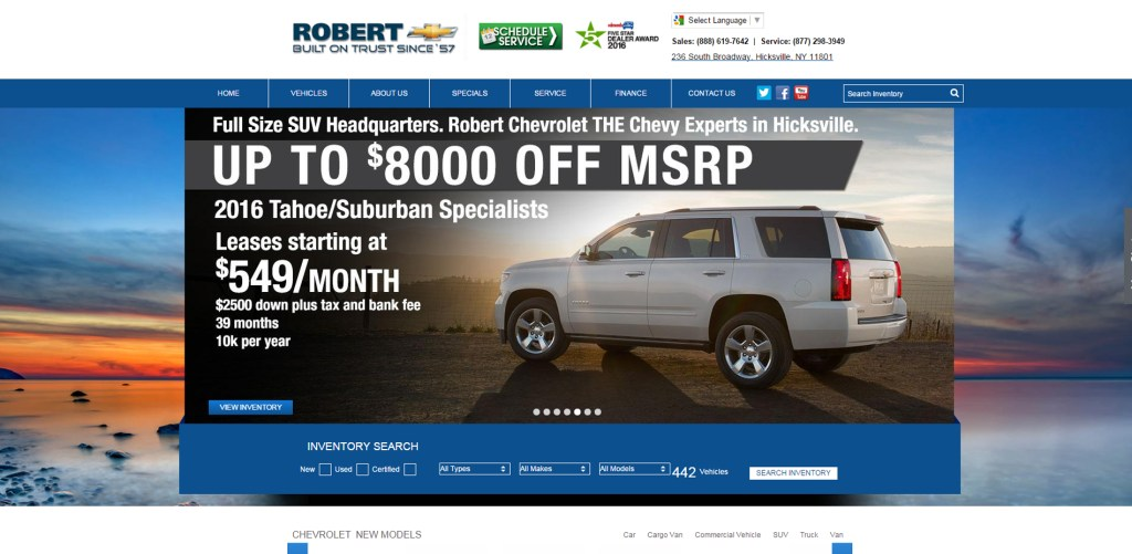 Robert Chevrolet, New