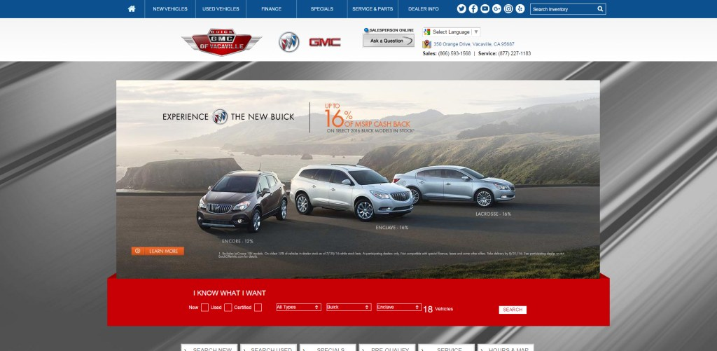 Buick GMC of Vacaville, Featured