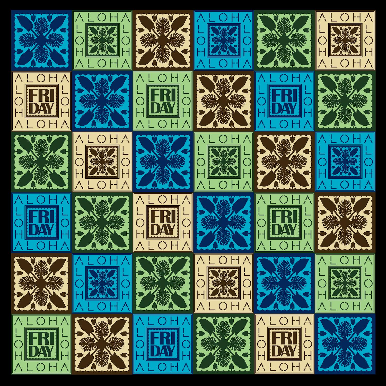 Aloha Friday Quilt Pattern