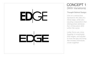 EDGE Logo Concepts