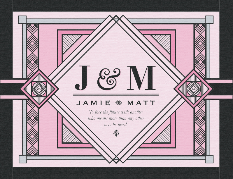 J & M Colored Print