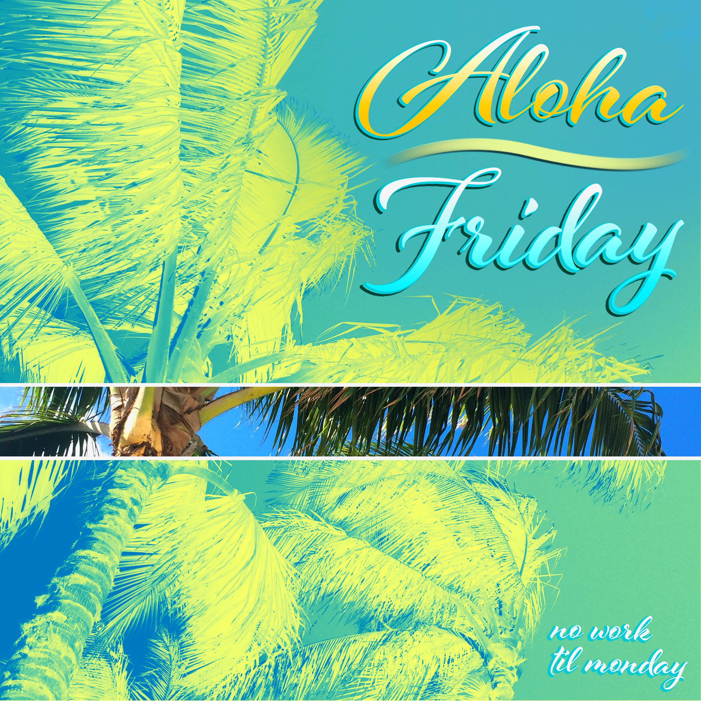 Beach Palm Aloha Friday