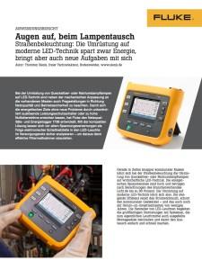 German LED Road Lighting Application Note