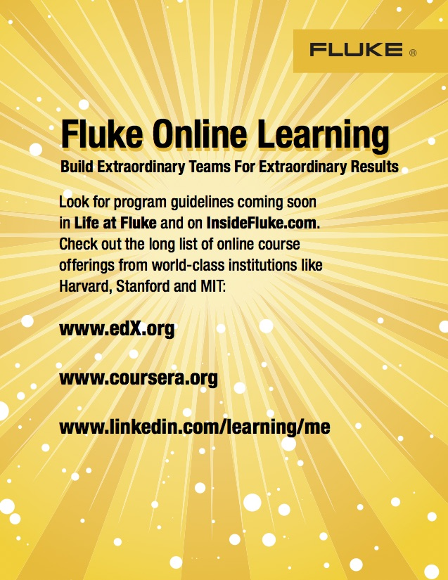 Fluke Day 2017 Online Learning Flyer