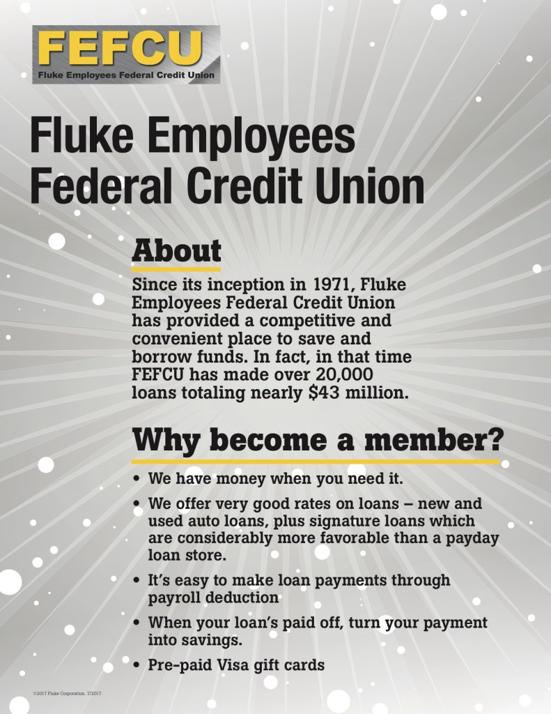 Fluke Day 2017 FEFCU Table Signs