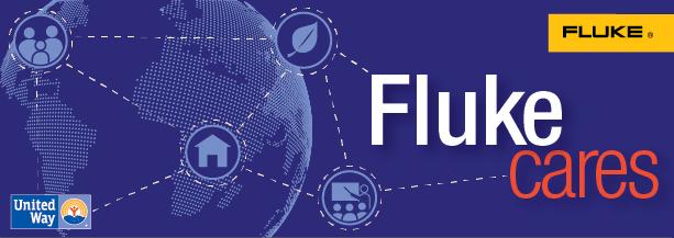 Fluke Cares Banner