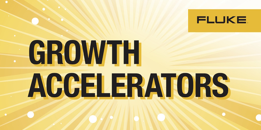 Fluke Day 2017 Growth Accelerators 2x4 ft banner