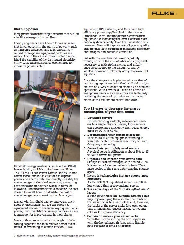 Energy Audits Application Note