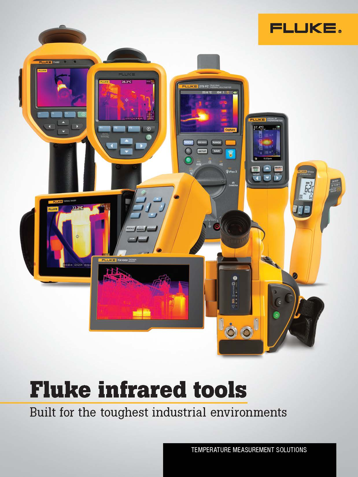 Fluke TFluke Thermography Product Family Brochurehermography Product Family Brochure