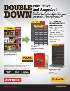 Fluke and Amprobe Double Down Flyer