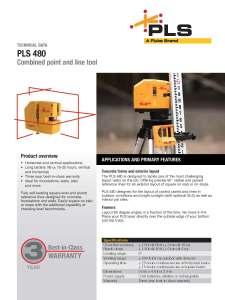 PLS 480 Datasheet