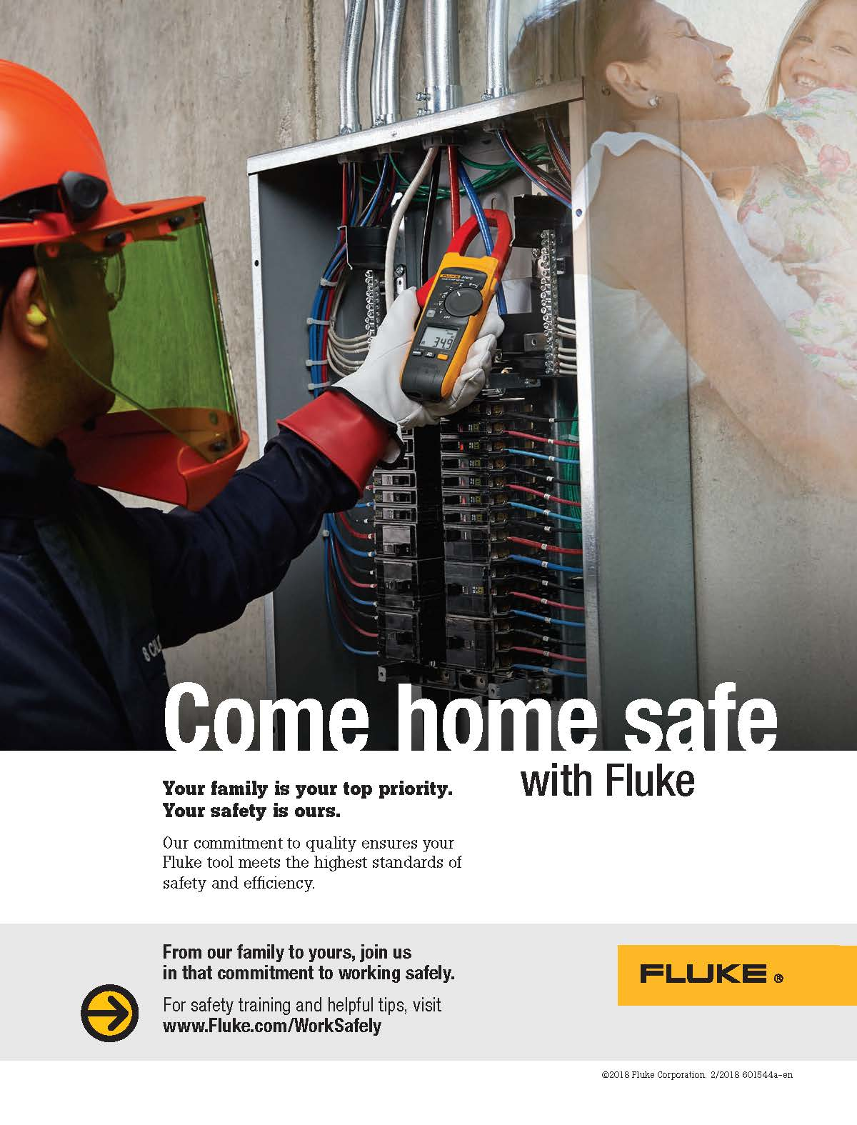 Fluke Safety Campaign 2018, Ad