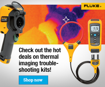 Fluke Thermography Troubleshooting Kit Promo, External Web Banners