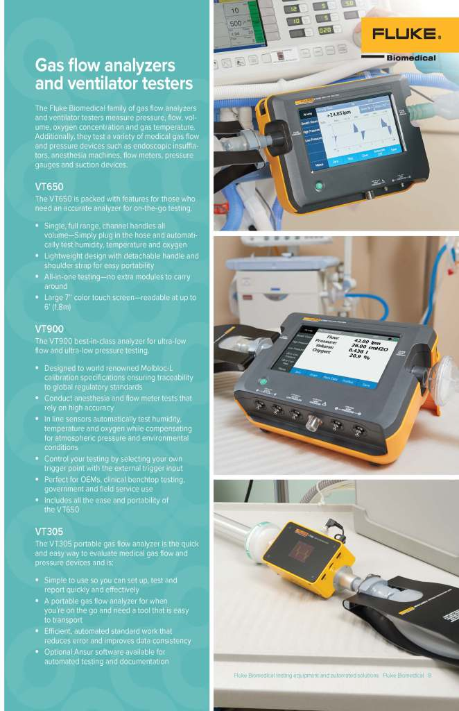 Fluke Biomedical Automated Solutions Brochure